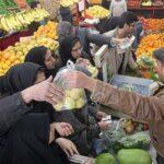 میوه های قاچاق در بازار تهران
