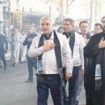 برگزاری مراسم عزاداری سالار شهیدان در شرکت سایپا